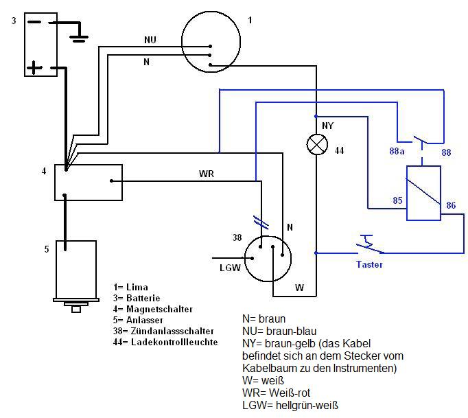 wiring diagram with deutz